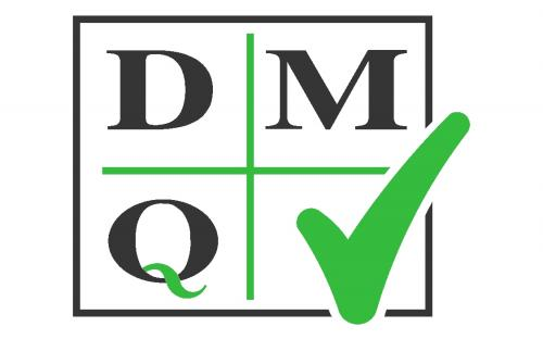 3D DMQ logo - Flat